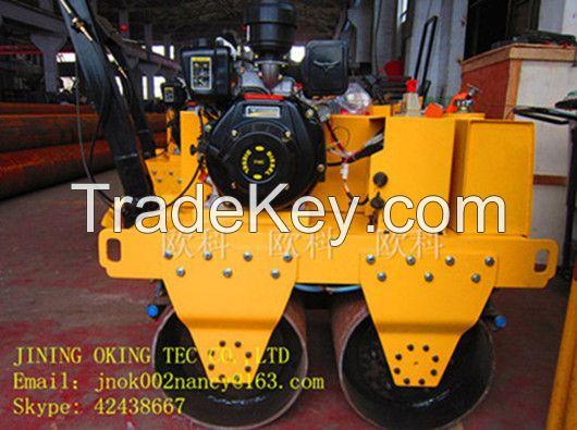 OK-S600C double steel wheel diesel roller