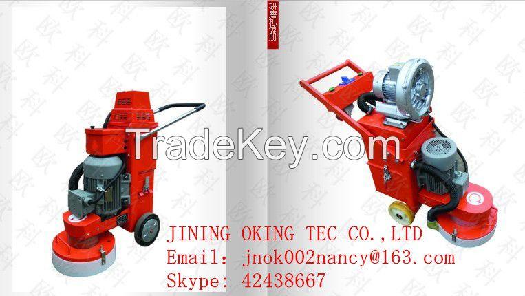OK-300 Epoxy floor grinding machine with transformer