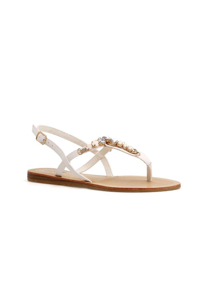 2015 Fashion Ladies Shoes Flat Fancy Women Party Dress Sandals 44GJ10