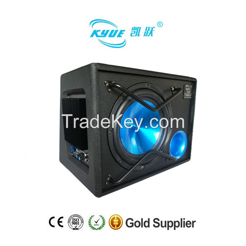 New 10 inch trapezoidal car subwoofer