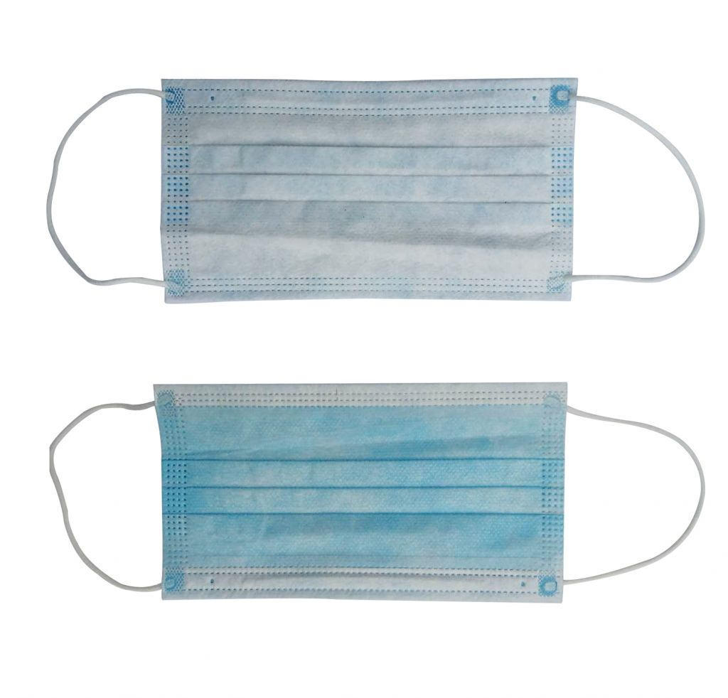3 layer Disposal face mask, surgical mask for dust bacterial virus protection