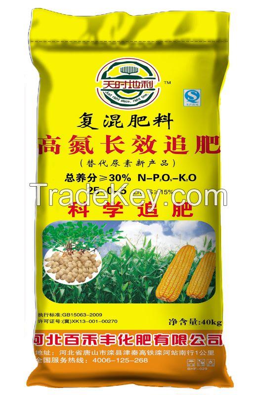 Nitrogen & Potassium additional fertilizer, Compound fertilizer,Blended fertilizer, Urea