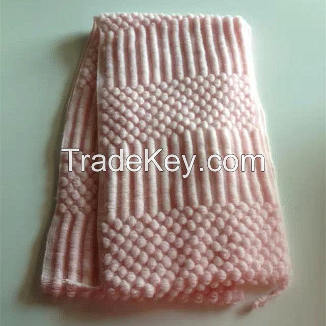 knitting scarf for lady in solid color