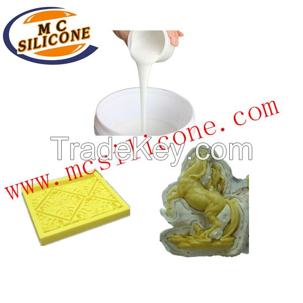 Which kind of silicone rubber suitable for molds making of cement crafts? Silicone for gypsum
