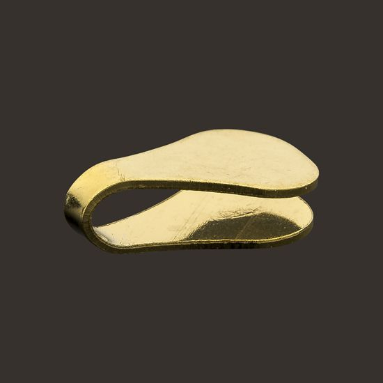 Gold, Silver or Bronze End Caps - Wholesale/ Manufacturer Italian Jewelry Findings