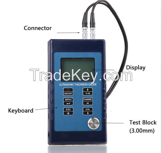 GC800 ultrasonic thickness gauge by GuoOu