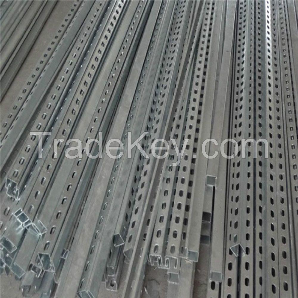 Solar Panel Bracket/Galvanized U type Steel/ Cold-formed U Type Steel/Photovoltaic stent