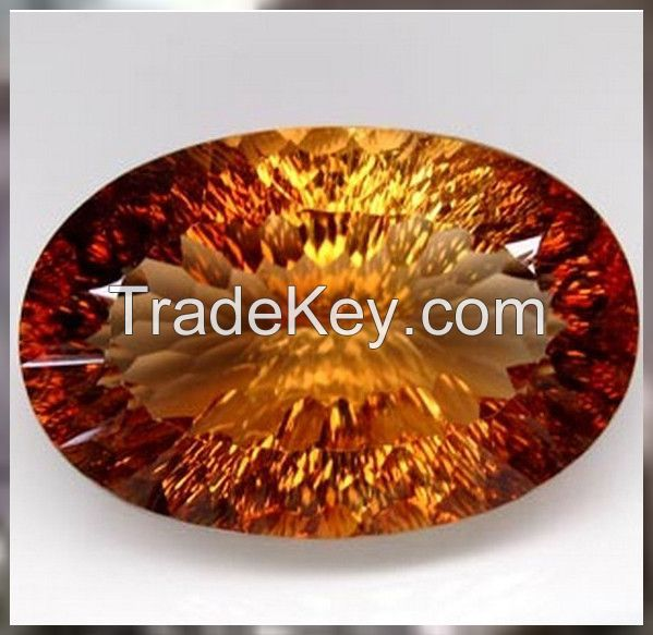 Certified Natural Topaz  Imperial Coloured 77.82ct