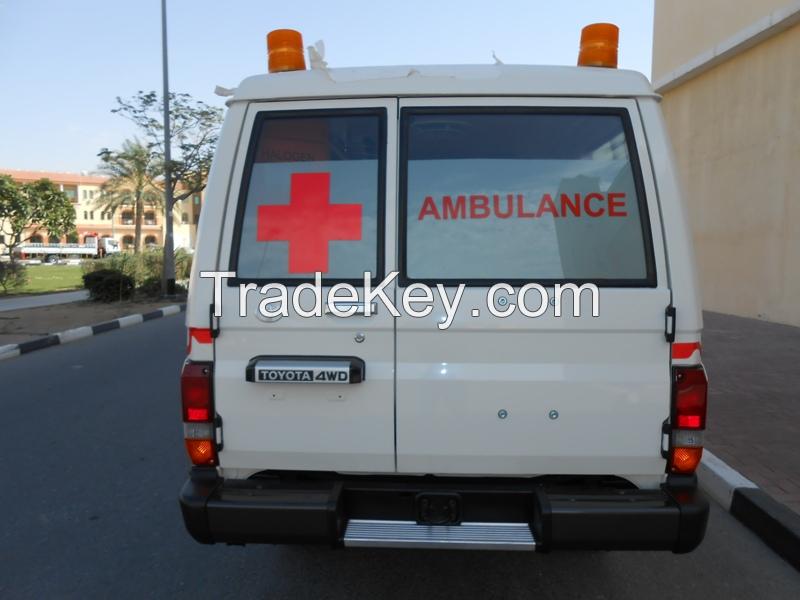 Toyota Land Cruiser Ambulance HZJ78