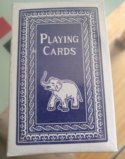 767 elephant playing cards