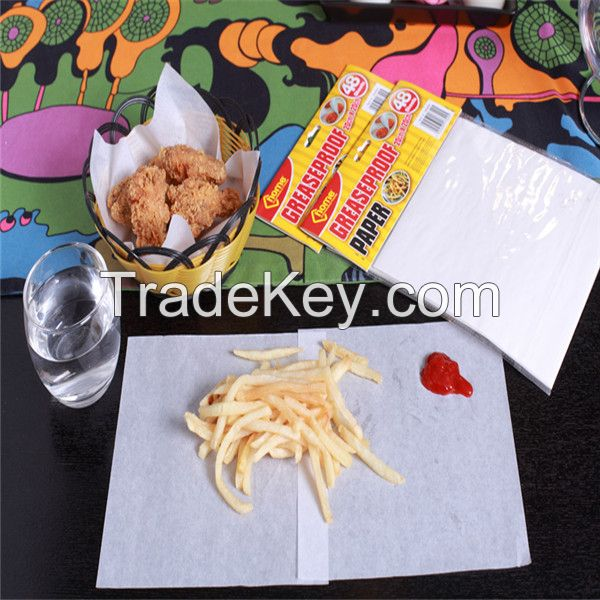 High Quality Food Grade Oily Food Wrapping Paper KIT7-11 Greaseproof paper