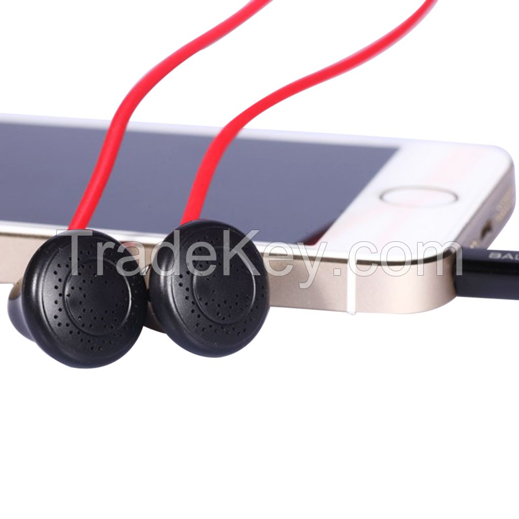 BALDOOR E100 In Ear Headphones Earphones with 3.5mm headphone jack Black