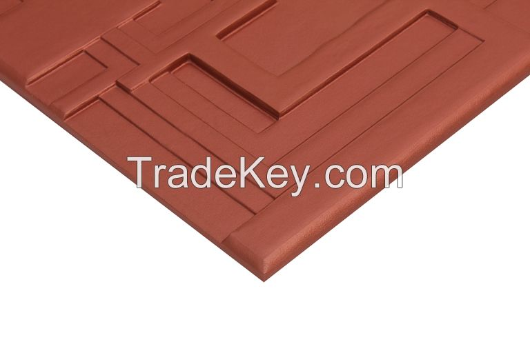 Crossover  soft background wall 3D Leather Wall Panels