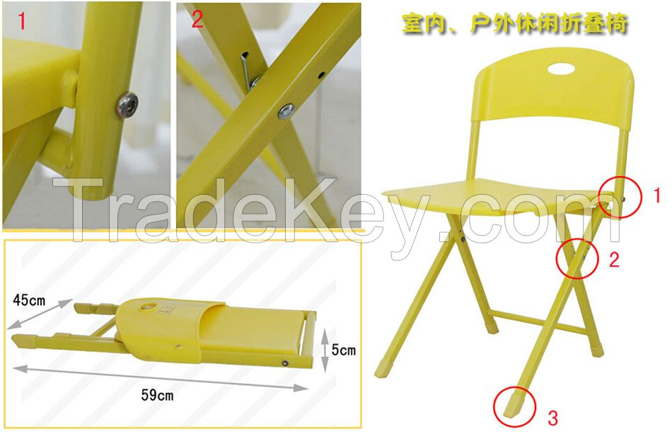 Garden products Outdoor leisure folding desks and chairs