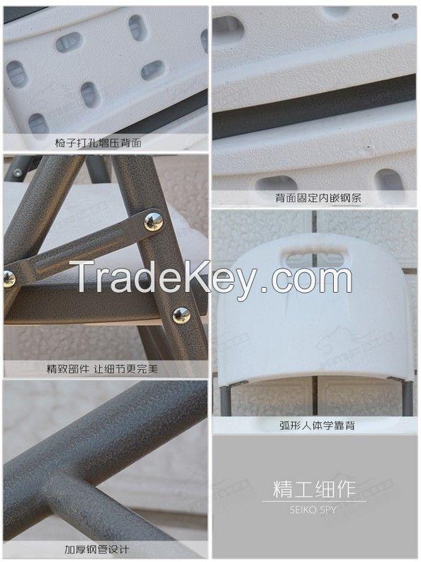 Balcony or garden leisure Plastic Folding table