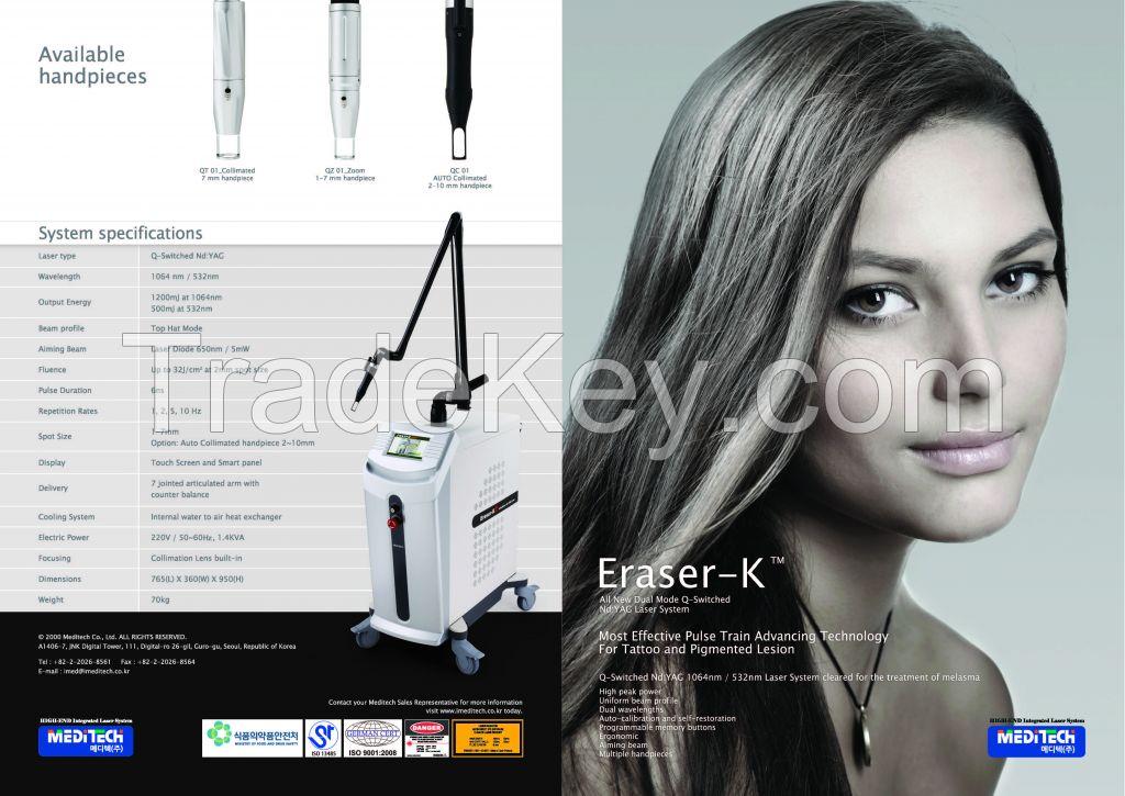 Eraser-K (Q-Switched Nd: YAG Laser)