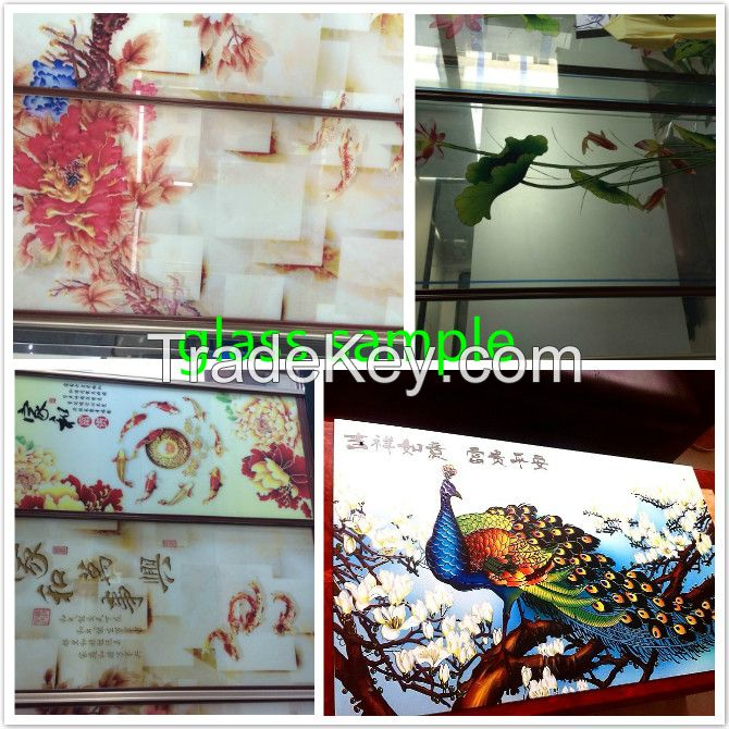High quality large format uv glass inkjet printer in China