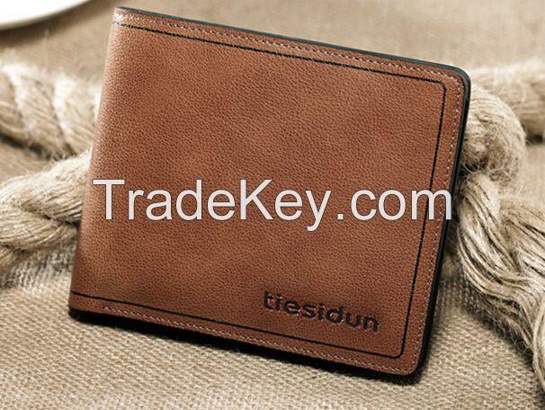 Wholesale Best Mens Leather Wallet Money Clip Card Holder