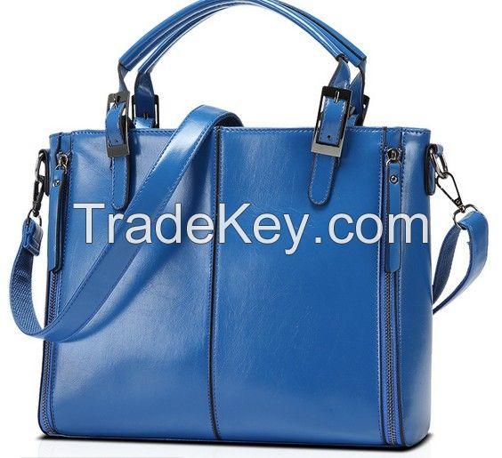 2016 Fashion Premium PU Leather Women Handbags