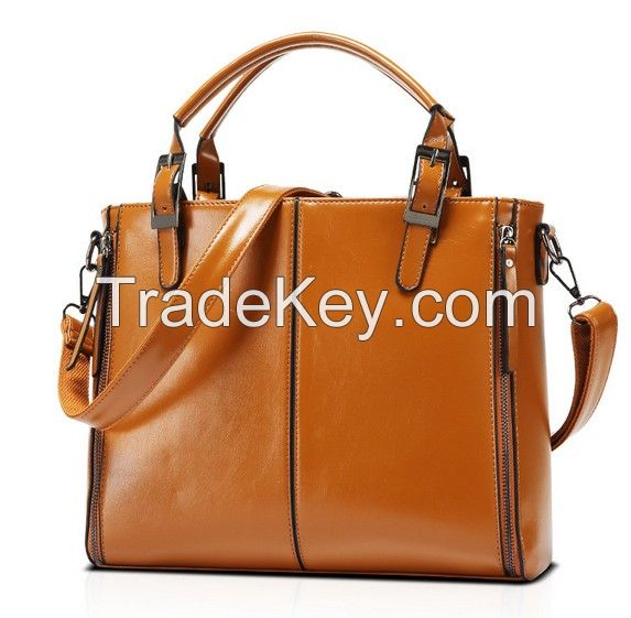 2016 Fashion Premium PU Leather Women Handbags