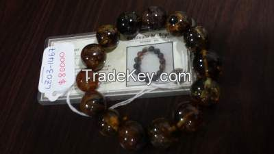 Raw Amber Stones and Jewellery