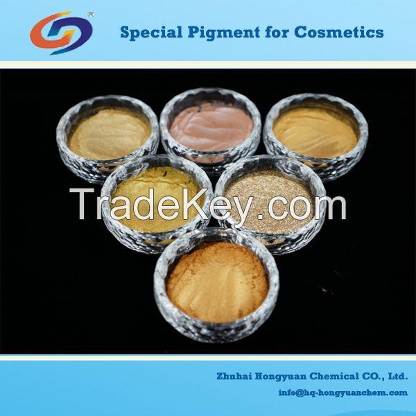 color mica pearl lustre pigment for cosmetics