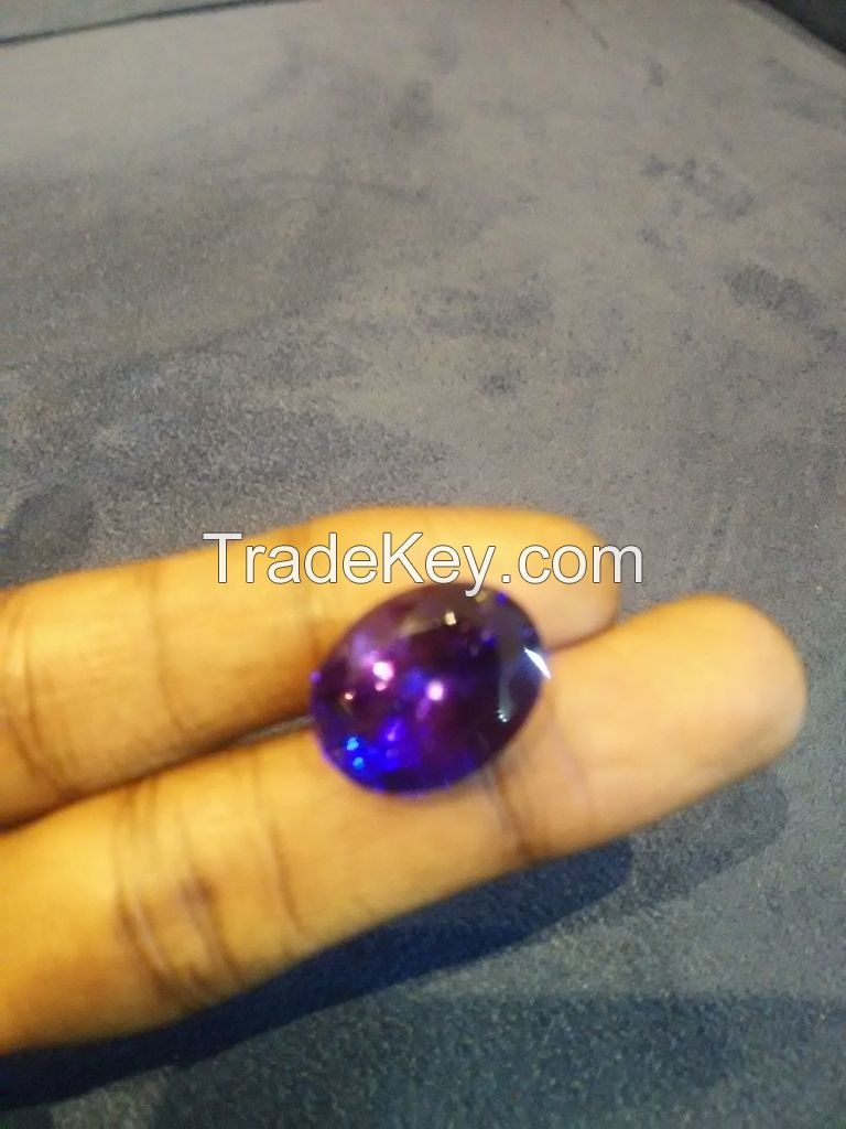 Tanzanite stones from 1cts to 49.99 cts