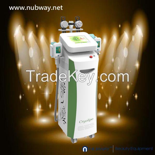 Hot In USA RF Cavitation Cryolipolysis Fat Freezing Slimming Machine