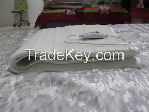 rechargeable double washable detachable 3 sets controllers heater blanket with low voltage