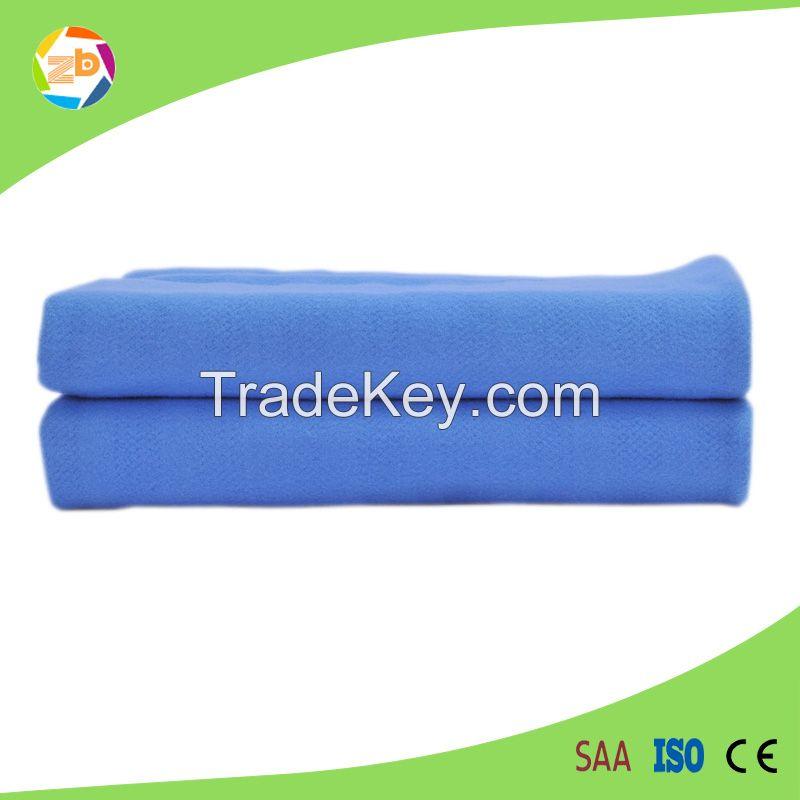 100% fleece king size washable detachable 3 sets controllers heating blanket