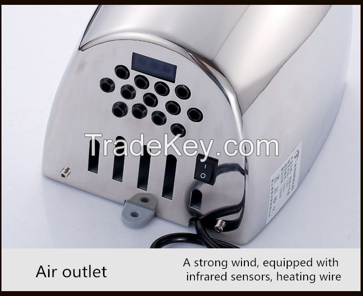 2017High quality and low price of the bathroom hand dryer