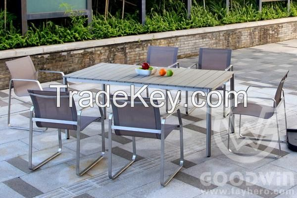 High quality goodwin furniture mix and match style design dining set