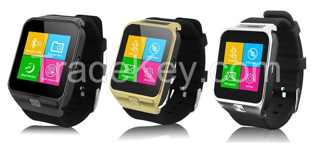 Original Manufacturer Wholesale 3 in1 Bluetooth Smart Watch + Watch Phone with 2g Phone Calling + Camera