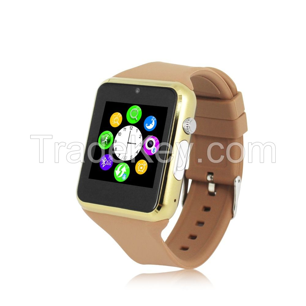 New Arrival Bluetooth Smart Watch Smartwatch Wristwatch Sports Watch Phone Support SIM Card Camera For Apple IOS Android Mobile Phone