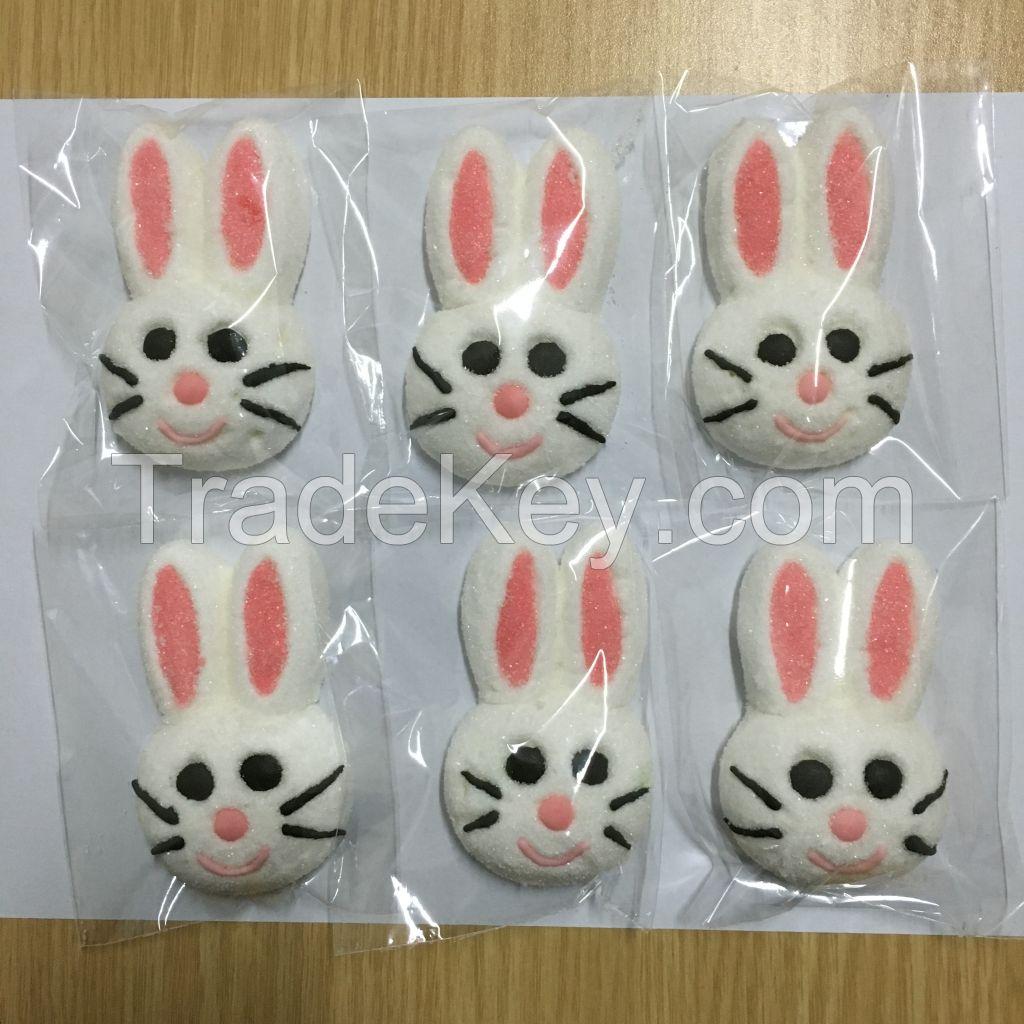 Custom Cute Animal Shaped Marshmallow Candy