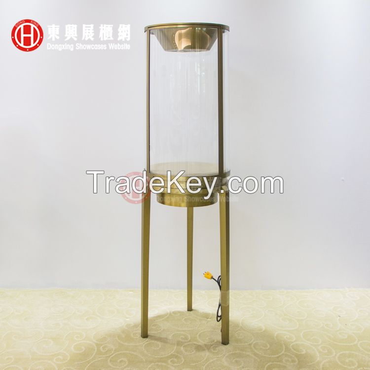 jewelry display case, showcase with LED lights, display counter, custom made showcase, commercial showcase, museum showcase
