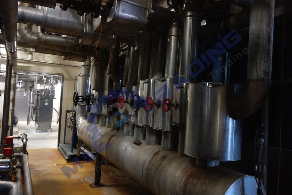 Second Hand 2 and 4 Channel CIP Plant for SALE