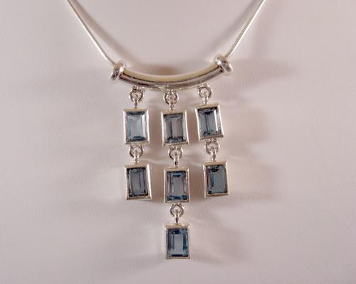 Sterling Silver and Semi-Precious Stone Jewelry
