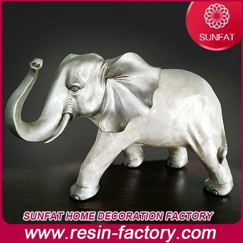 For home decoration Modern fashion Interior decoration Luxurious Resin crafts Auspicious Elephant Decoration