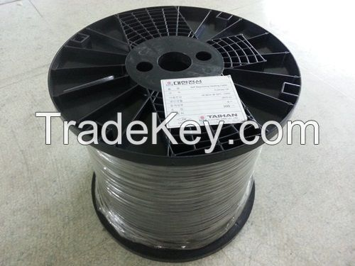 Trace heating cable
