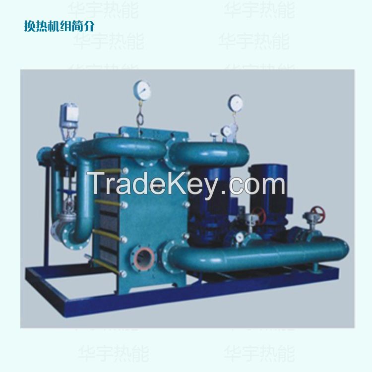 Plate heat exchanger/ Spiral-plate heat exchanger