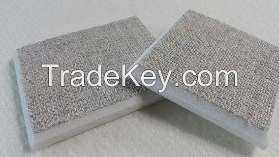 compressed textile panel