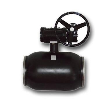 All welded ball valves of extension rod stainless steel valve ball