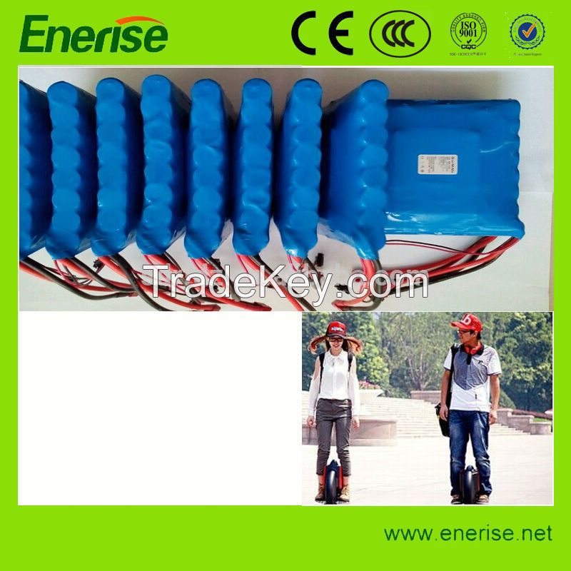 SAMSUNG BRAND 60V 2200mAh Lithium Ion Battery Pack for Electric Unicycle