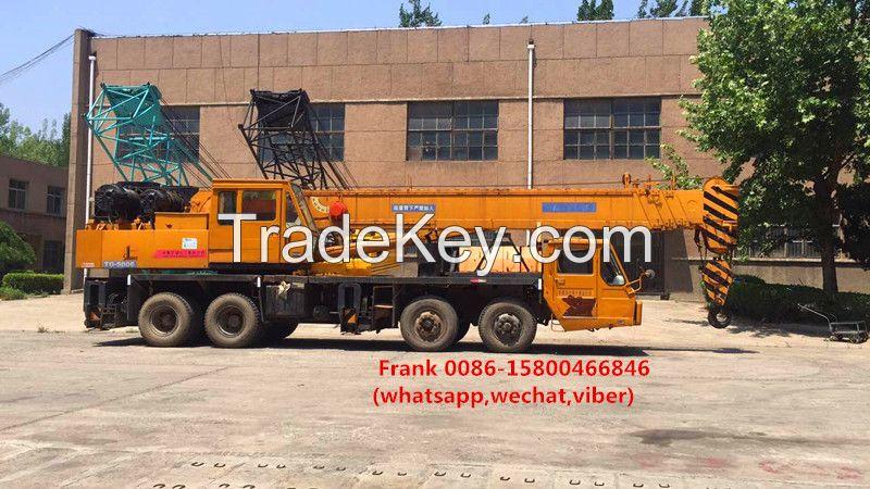 TADANO crane 50t, japan truck crane tadano