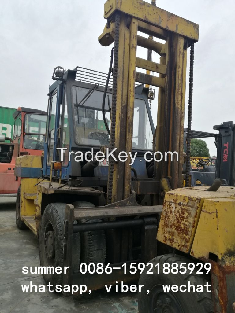used komatsu forklift 10tons, used froklift in china, cheap forklift