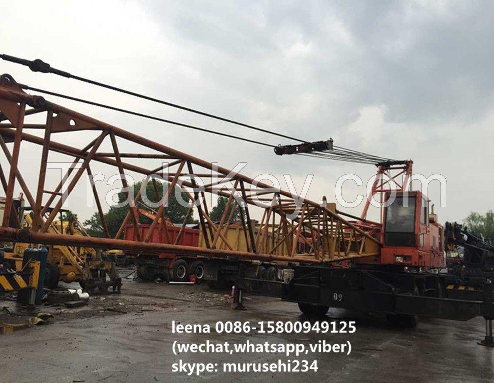 used IHI 40tons lattice boom truck crane