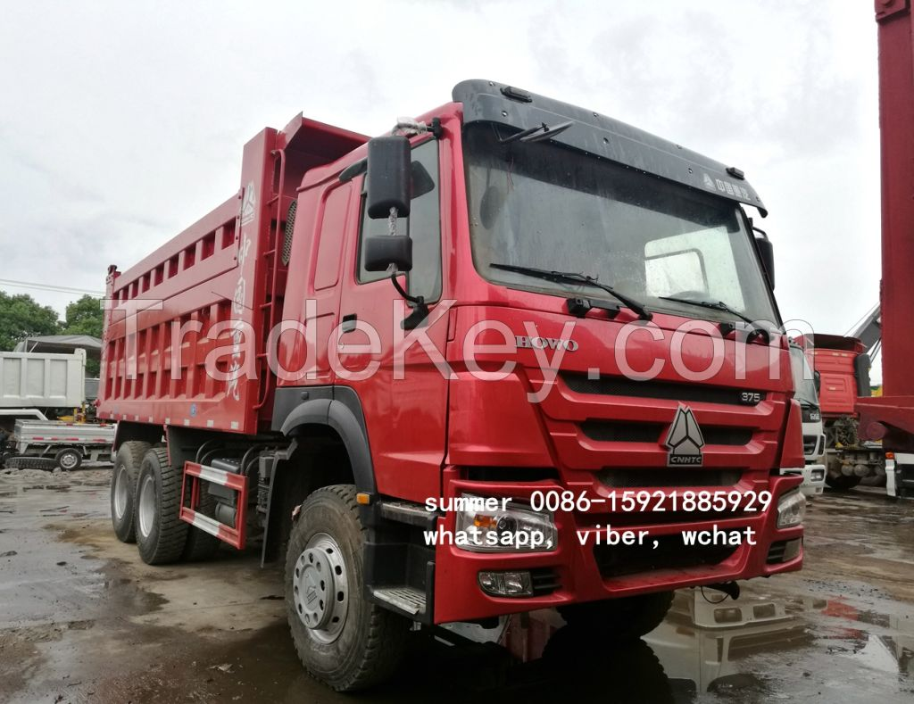 used chinese sinotruck howo dump truck in cheap price, used dump truck for sale