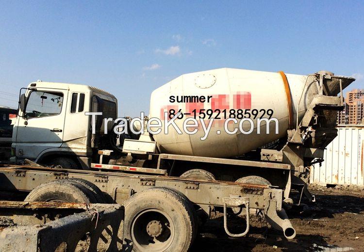used mitsubishi fuso concrete mixer truck in cheap price