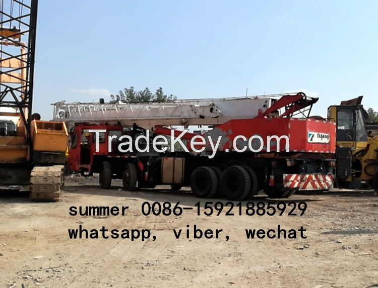 used 50tons tadano truck mobile crane in cheap price